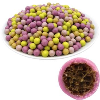 Рисовые шарики (7 мм) Ассорти в цветной шоколадной глазури (2,5 кг) - Premium - фото 42434