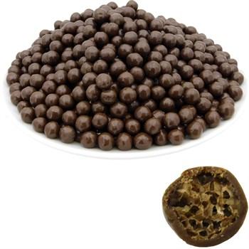 Рисовые шарики (7 мм) в молочной шоколадной глазури (2,5 кг) - Premium - фото 42435