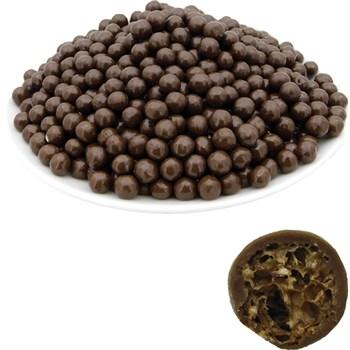 Рисовые шарики (7 мм) в молочной шоколадной глазури (2,5 кг) - Standart - фото 42436