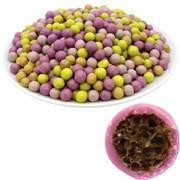 Рисовые шарики (7 мм) Ассорти в цветной шоколадной глазури (2,5 кг) - Premium