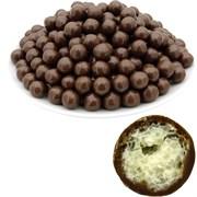 Рисовые шарики (10 мм) в молочной шоколадной  глазури (2,5 кг) - Standart